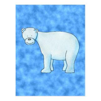 Polar Bear. Postcard