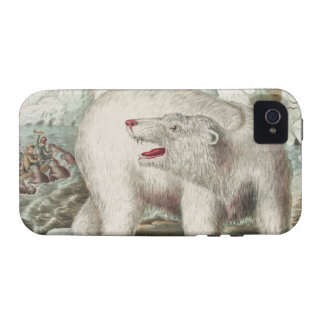 Polar Bear Poster Case-Mate iPhone 4 Covers