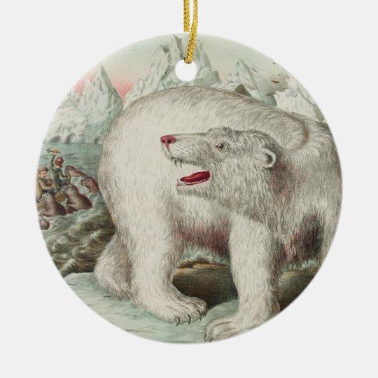 Polar Bear Poster Ornament