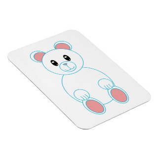 Polar Bear Premium Flexi Magnet