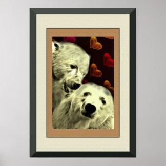 Polar Bear Pride Framed Poster