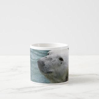 Polar Bear Profile Specialty Mug Espresso Mugs