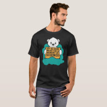 Polar Bear Protest For Science Climate Change Gift T-Shirt
