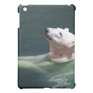 Polar bear resting cover for the iPad mini