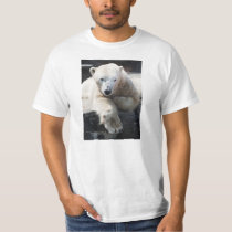 Polar Bear Resting Tshirt