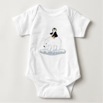 Polar Bear Ride Baby Bodysuit