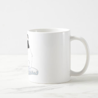 Polar Bear Ride Classic White Coffee Mug