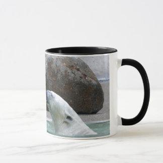 Polar Bear Ringer Mug