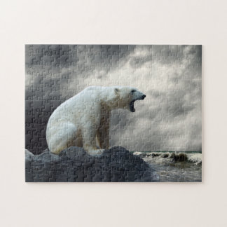 Polar Bear Roaring Puzzle