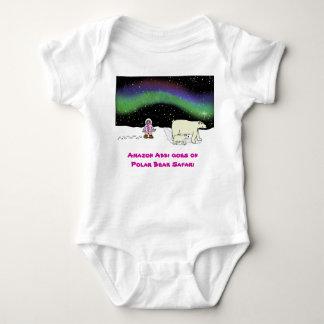 Polar Bear Safari Baby Bodysuit