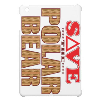 Polar Bear Save iPad Mini Cases