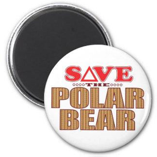 Polar Bear Save Magnet