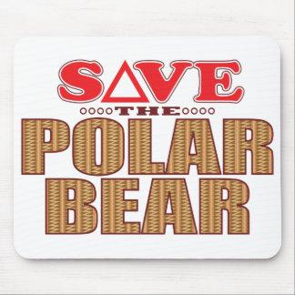 Polar Bear Save Mouse Pad