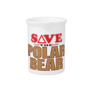 Polar Bear Save Pitcher