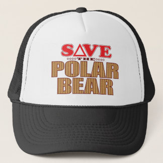Polar Bear Save Trucker Hat