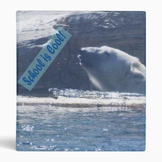 Polar Bear School is Cool Binder