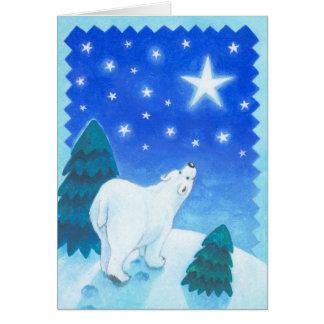 Polar bear sees a radiating ASTRE Card