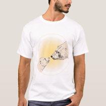 Polar Bear Shirt Kid's Baby Bear Organic Shirt