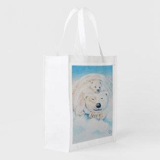 Polar bear shopping bag