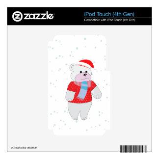 polar bear skin for iPod touch 4G
