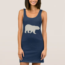 Polar Bear Sleeveless Dress