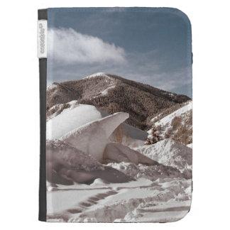 Polar Bear Snow Sculpture Case For The Kindle