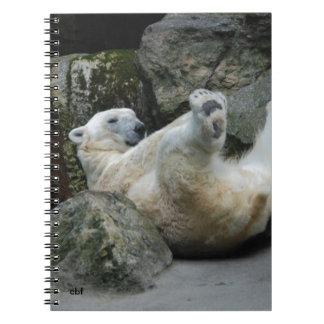 Polar Bear Spiral Notebooks