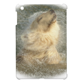 Polar bear splash iPad mini covers