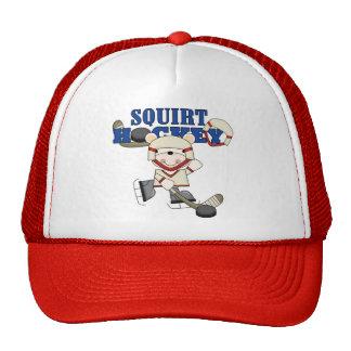 Polar  Bear Squirt Hockey Tshirts and Gifts Trucker Hat
