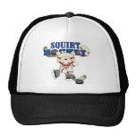 Polar  Bear Squirt Hockey Tshirts and Gifts Mesh Hat