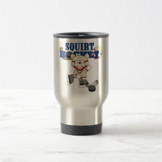 Polar  Bear Squirt Hockey Tshirts and Gifts Travel Mug