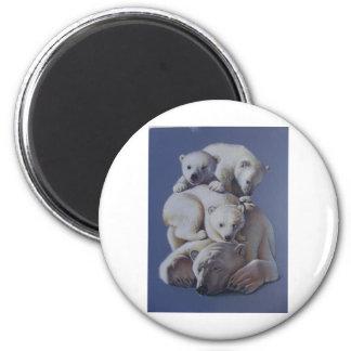 Polar Bear Stack Magnet