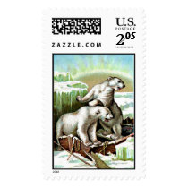 polar bear stamp postage