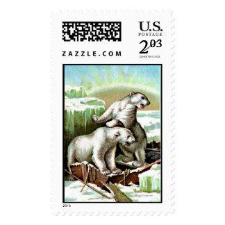 polar bear stamp postage