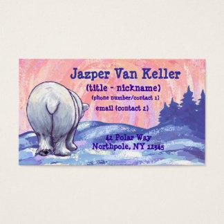 Polar Bear Stationery Business Card