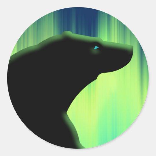 Polar Bear Stickers Wildlife Art Stickers