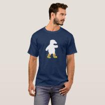 Polar Bear Strutting in Snow Boots T-Shirt