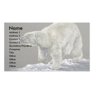 Polar Bear study Business Card