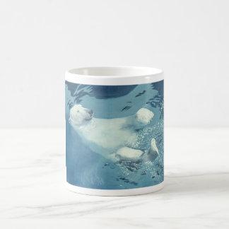 Polar Bear Swim Coffee Mugs