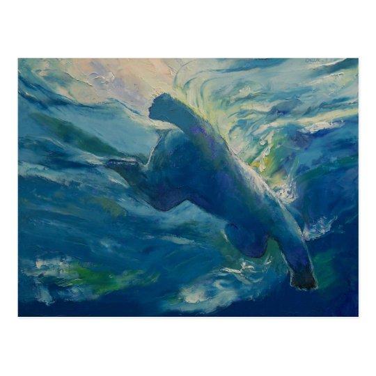 Polar Bear Swim Postcard