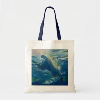 Polar Bear Swim Tote Bag