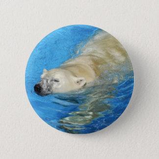 Polar bear swimming button