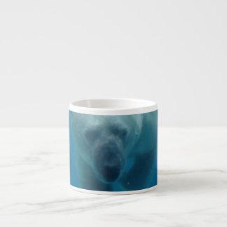 Polar Bear Swimming Specialty Mug Espresso Cup