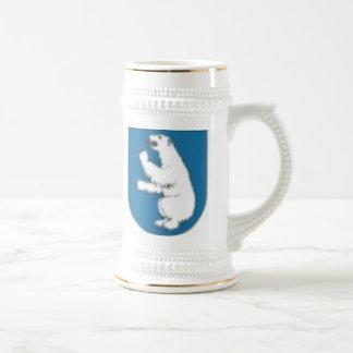 polar bear - symbol of cape of Shmidt Beer Stein