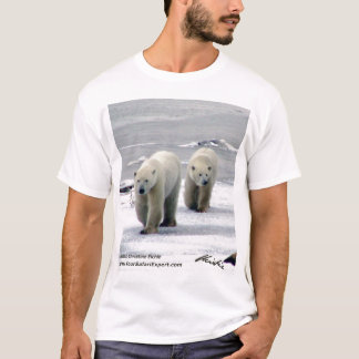 Polar Bear T-Shirt 1 (front & back design)