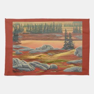 Polar Bear Towel Polar Bear Art Tea Towel Gift