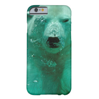 Polar bear underwater barely there iPhone 6 case
