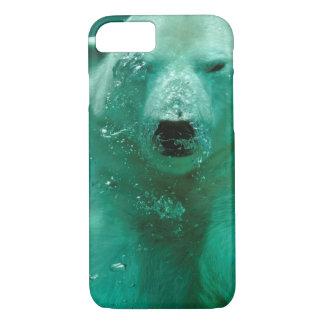 Polar bear underwater iPhone 8/7 case