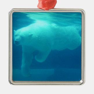 Polar Bear Underwater Ornaments
