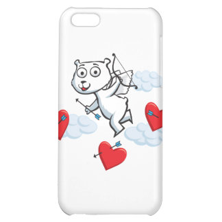 Polar Bear Valentine Cover For iPhone 5C